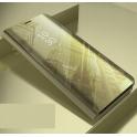 Etui Clear View Cover SAMSUNG J4+ J4 Plus złote