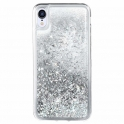 Etui plecki brokatowe Liquid IPHONE 11 PRO srebrne