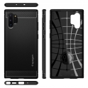 SPIGEN SGP  Etui Spigen Rugged Armor SAMSUNG GALAXY NOTE 10+ PLUS MATTE BLACK czarne