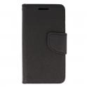 Etui portfel Fancy SAMSUNG GALAXY A20E czarne