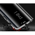 Etui Clear View Cover SAMSUNG J4+ J4 Plus czarne