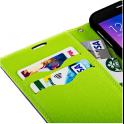 Etui portfel Fancy Samsung A530 Galaxy A5/A8 2018 złote