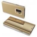 Etui z klapką Clear View Cover SAMSUNG GALAXY A10 złote