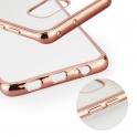 Etui ramka Ring Huawei P Smart jasny róż