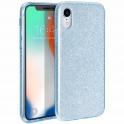 Etui Brokat Glitter LG K8 2018 niebieskie