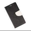 Etui portfel fancy SAMSUNG S9 czarno-biały shine