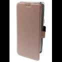 Etui Flip Rubber SAMSUNG GALAXY  A8+ 2018 różowo-złote