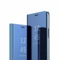 Etui z klapką Clear View Cover HUAWEI  Y7 2019 PRIME niebieskie
