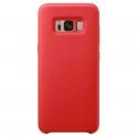 Etui Silicone Case elastyczne silikonowe SAMSUNG GALAXY S8 czerwone
