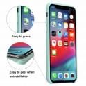 Etui Silicone Case elastyczne silikonowe APPLE IPHONE X miętowe