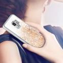 Etui Liquid SAMSUNG GALAXY  S9+ S9 PLUS złote