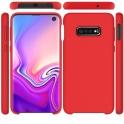 Etui Silicone Case elastyczne silikonowe SAMSUNG GALAXY S10 LITE S10E czerwone