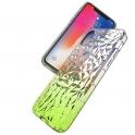 Etui Diamond Ombre IPHONE XS MAX limonkowe