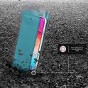 Etui portfel Flip Magnet SAMSUNG GALAXY A50 turkusowe