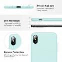 Etui Silicone Case elastyczne silikonowe  SAMSUNG GALAXY S10 miętowe
