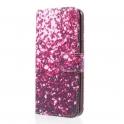 Etui wallet leather SAMSUNG GALAXY S9 G960 Różowe cekiny