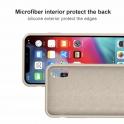 Etui Silicone Case elastyczne silikonowe SAMSUNG GALAXY A7 2018 szare