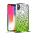 Diamond Case Ombre Samsung J6 2018 lime