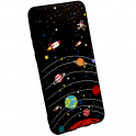 Etui Slim case Art SAMSUNG GALAXY A7 2018 planeta