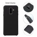 Etui Silicone Case elastyczne silikonowe SAMSUNG GALAXY A6 2018 czarne