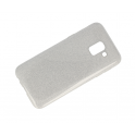 Glitter case SAMSUNG J6 2018 silver