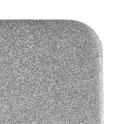 Etui Glitter LG Q6 srebrne