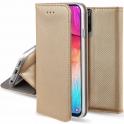 Etui portfel z klapką Flip Magnet SAMSUNG GALAXY NOTE 10+ PLUS złote