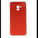 Etui Brio case SAMSUNG A8+ 2018 czerwone