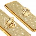 nemo Etui Diamond Ring Brokat XIAOMI MI 9 SE złote