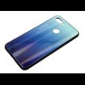 Etui Glass Rainbow XIAOMI MI 8 LITE niebieskie