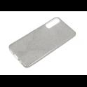 Etui glitter SAMSUNG A7 2018 srebrne