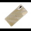 nemo Etui Wave glitter HUAWEI P20 złote