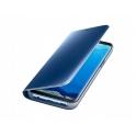 Etui Clear View Cover SAMSUNG J4+ J4 Plus niebieskie