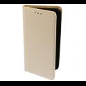 Etui portfel Flip Magnet HUAWEI Y5 2018 złote