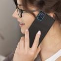 nemo Etui SAMSUNG GALAXY A71 Szklane Glass Case czarne