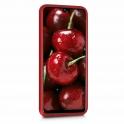 Etui Silicone Case elastyczne silikonowe HUAWEI P20 LITE czerwone