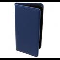 Etui portfel Flip Magnet SAMSUNG GALAXY A9 2018 granatowe