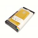 Etui Polaroid soft slim Samsung S5 żółte