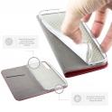 Etui SAMSUNG GALAXY S10 LITE portfel z klapką Flip Magnet czerwone