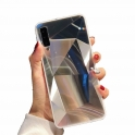 Etui 3D Lustro Mirror Obudowa Diamond Stone SAMSUNG GALAXY S10e białe