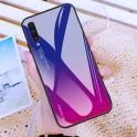 Etui Szklane Glass case Gradient SAMSUNG GALAXY S9 niebiesko-różowe
