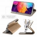 Etui portfel Flip Magnet SAMSUNG GALAXY A10 złote