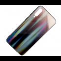 Etui Glass case Rainbow SAMSUNG GALAXY A70 brązowo-czarne
