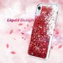 Etui plecki brokatowe Liquid IPHONE 11 PRO czerwone