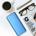 Etui XIAOMI REDMI 7A Clear View Cover z klapką niebieskie