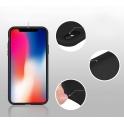 Etui Silicone Case elastyczne silikonowe HUAWEI Y6 2018 granatowe