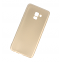 Etui Brio case SAMSUNG A8+ 2018 złote