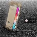 Etui SAMSUNG GALAXY S20+ PLUS portfel z klapką Flip Magnet złote