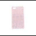 Etui Polaroid diamond iPhone 4 różowe
