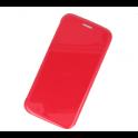 Etui portfel Flip Hybryda LG K10 2017 malinowe